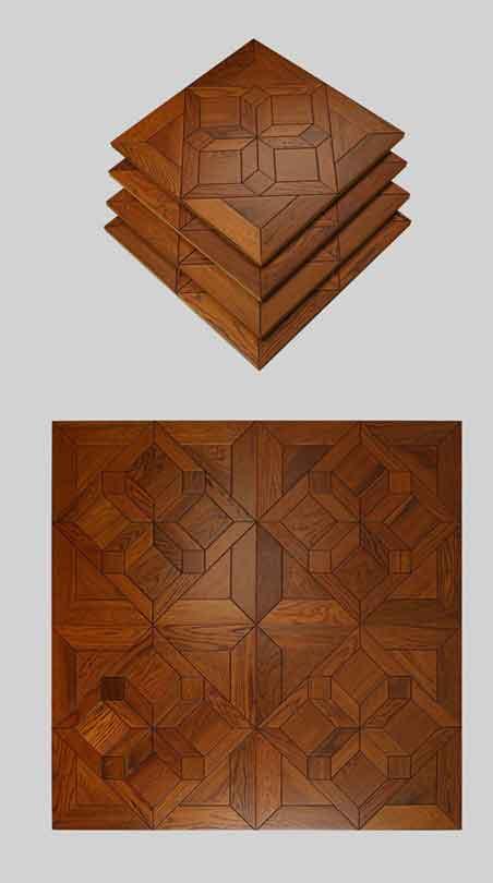 Designed Parquet Wood Flooring in Dubai